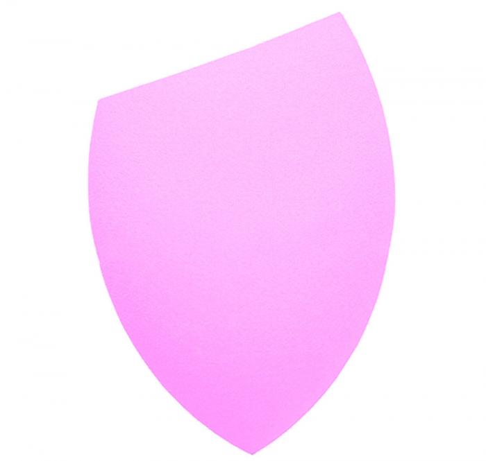 Burete Profesional Lacrima pentru Machiaj, Perfect Blending Cut Teardrop, Light Pink-big