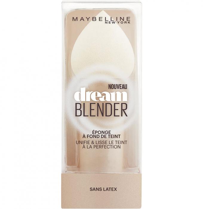 Burete Maybelline New York Dream Blender pentru aplicarea fondului de ten, lavabil, fara latex-big