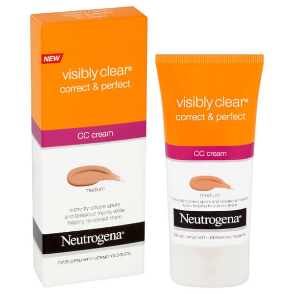 CC Cream Neutogena Visibly Clear Correct & Protect - Medium, 50 ml-big