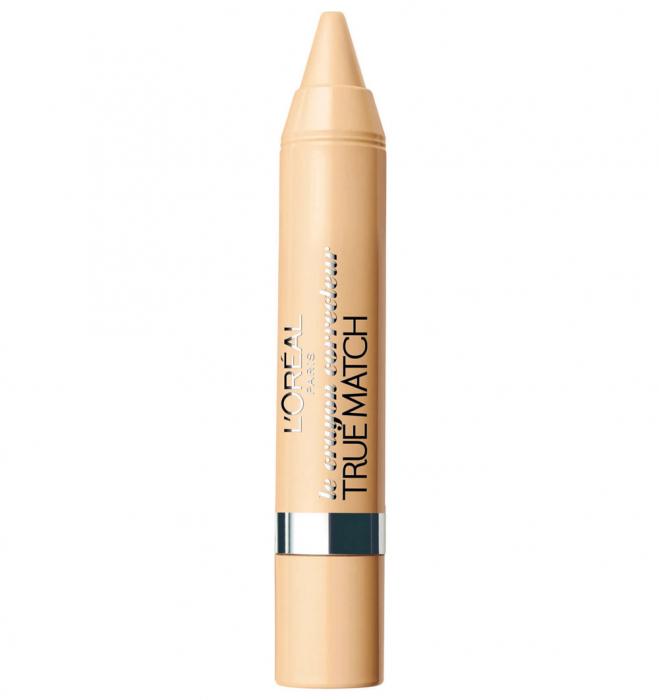 Creion Corector L'Oreal Paris Accord Parfait Crayon Concealer Pen, 20 Vanilla, 5 g-big