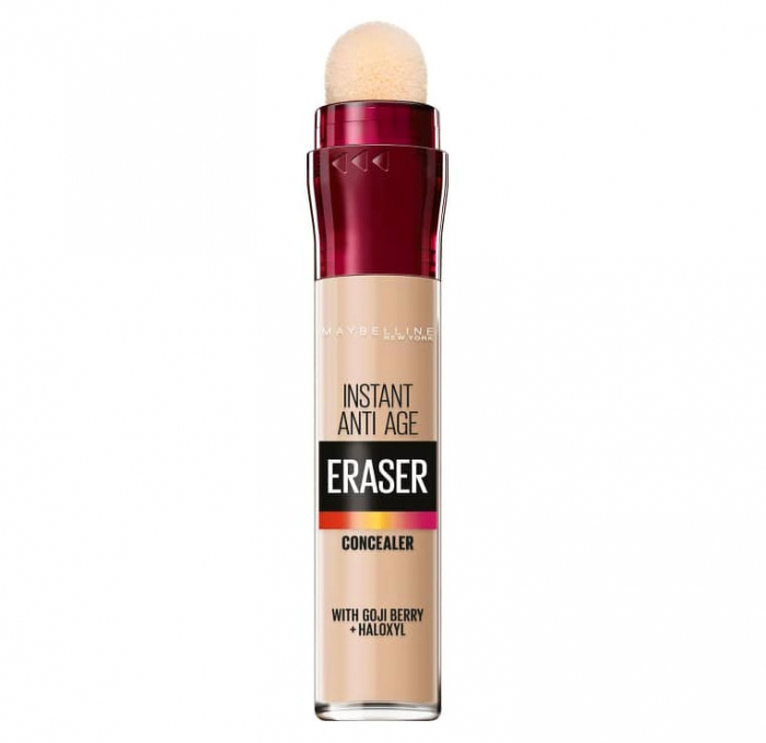 Anticearcan Maybelline New York Instant Anti-Age Eraser Concealer 01 Light, 6.8 ml-big