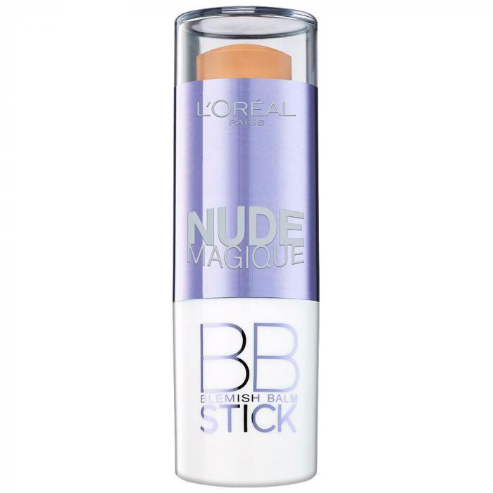 Corector L'Oreal Paris Nude Magique BB Concealer Stick, Medium to Dark-big