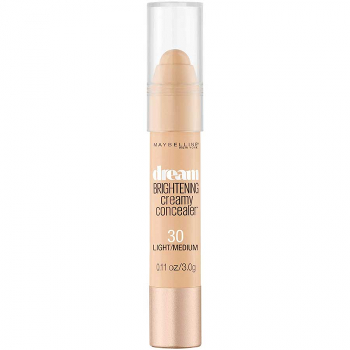 Creion Corector Maybelline New York Dream Brightening Creamy Concealer, 30 Light Medium-big