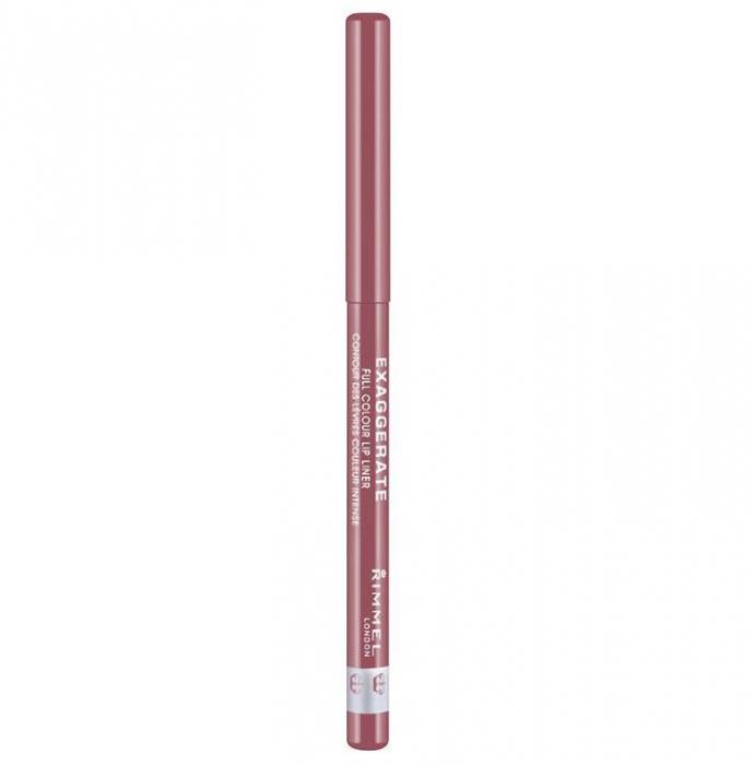 Creion de buze retractabil Rimmel London Exaggerate Lip Liner, 063 Eastend Snob-big