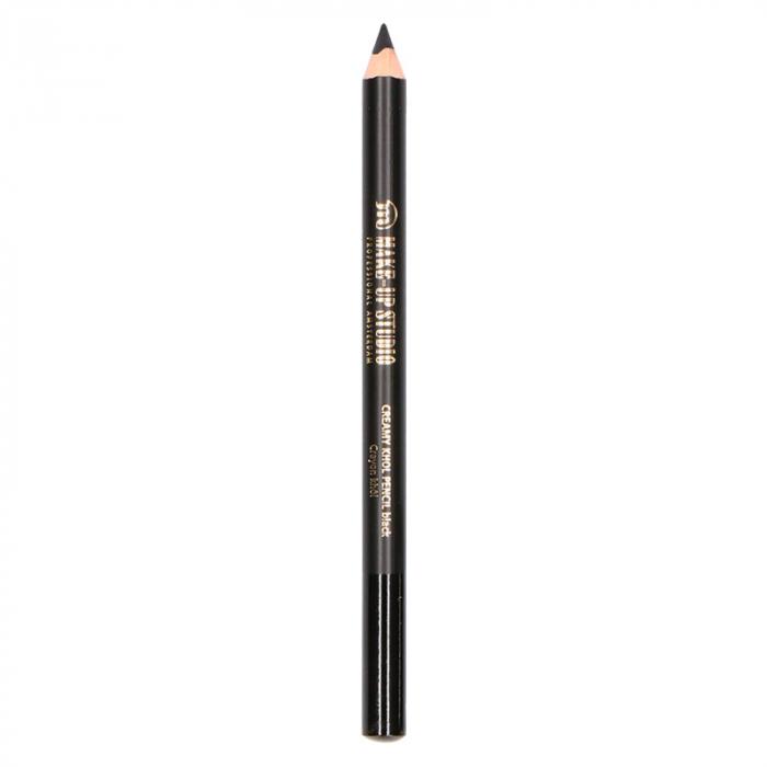 Creion De Ochi Profesional Makeup-studio Professional Make-up, Creamy Kohl, Negru Intens