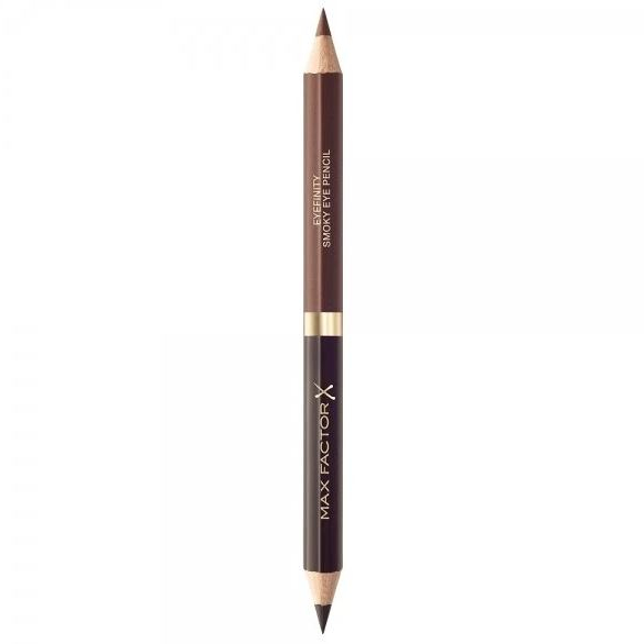 Creion de Ochi Max Factor Eyefinity Smoky Eye Pencil, 02 Black Charcoal & Brushed Cooper-big