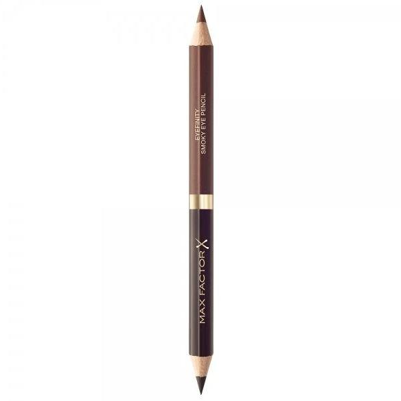 Creion de Ochi Max Factor Eyefinity Smoky Eye Pencil, 02 Black Charcoal & Brushed Cooper-big