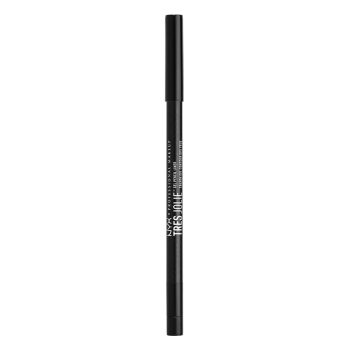 Creion De Ochi NYX Professional Makeup Tres Jolie Gel Pencil Liner, Pitch Black-big