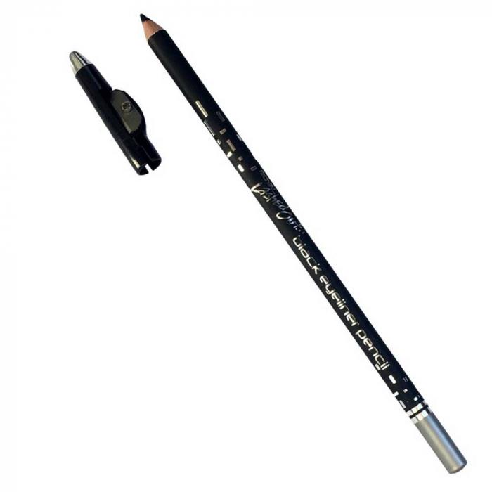 Creion Contur de Ochi Royal Lashed Out cu Ascutitoare, Negru-big