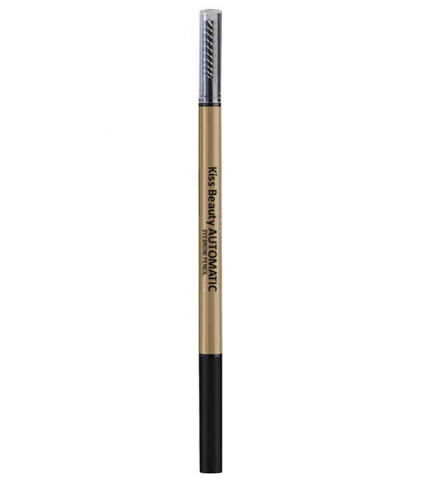 Creion de sprancene automat Kiss Beauty, Efect 3D, Rezistenta 24 H, 01 Blonde-big
