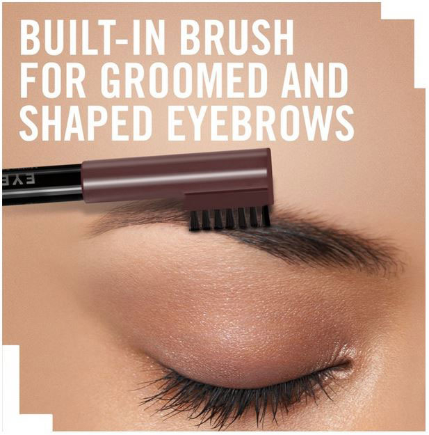 Creion pentru sprancene Rimmel London Professional Eyebrow Pencil, 002 Hazel, 1.4 g-big