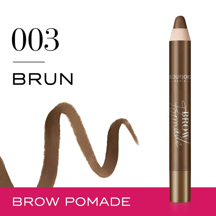 Creion pentru sprancene Bourjois Paris Brow Pomade, 003 Brun, 3.25 g-big