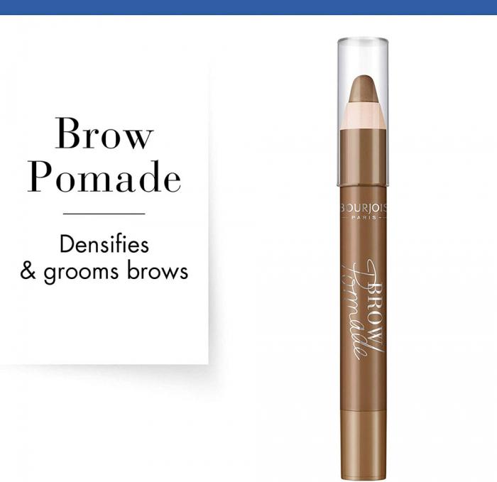 Creion pentru sprancene Bourjois Paris Brow Pomade, 002 Chatain, 3.25 g-big