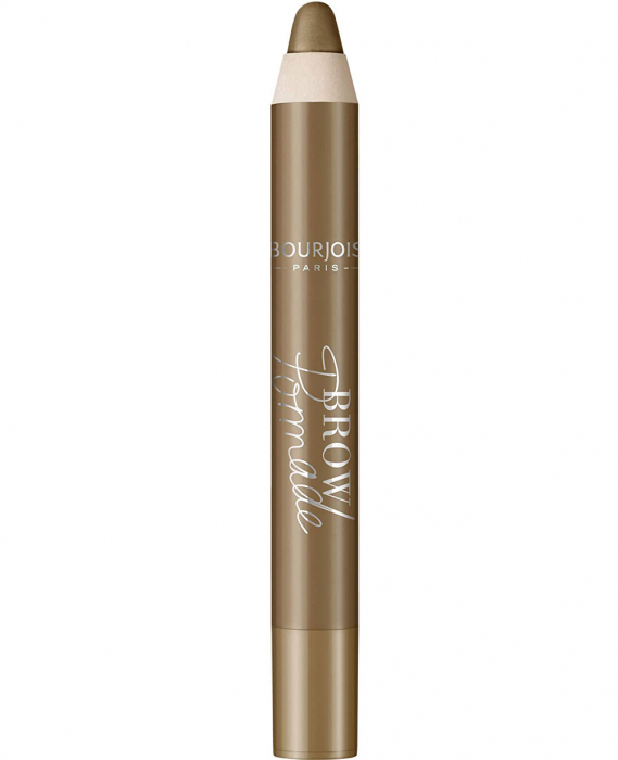 Creion pentru sprancene Bourjois Paris Brow Pomade, 002 Chatain, 3.25 g-big