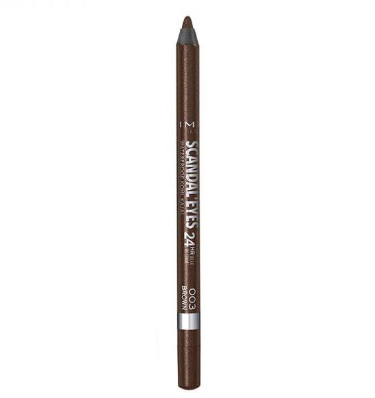 Creion de ochi Rimmel London Scandal' Eyes Waterproof Kohl Kajal 24H, 003 Brown-big