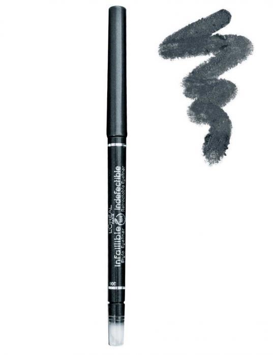 Creion de Ochi Retractabil L'oreal Infallible 16 Hr - 306 Stay Blue-big