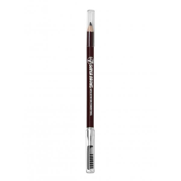 Creion Pentru Conturarea Sprancenelor W7 SUPER BROWS - Dark Brown-big