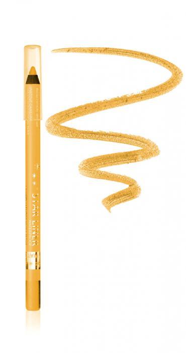 Creion Iluminator Waterproof cu irizatii aurii ARCANCIL, 542 Golden Groove-big