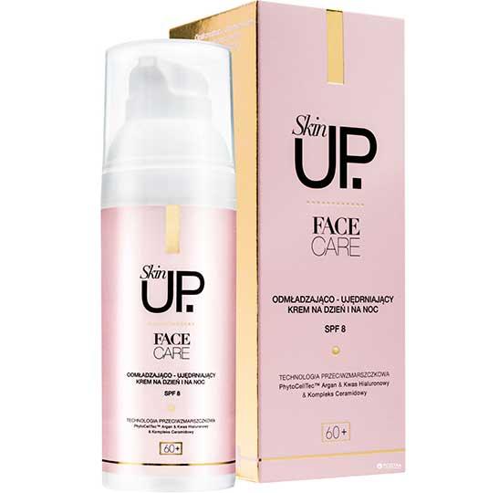 Crema de fata cu efect de lifting Skin UP Face Care cu acid hialuronic, tehnologie PhytoCellTec cu celule stem si Argan, 50 ml-big