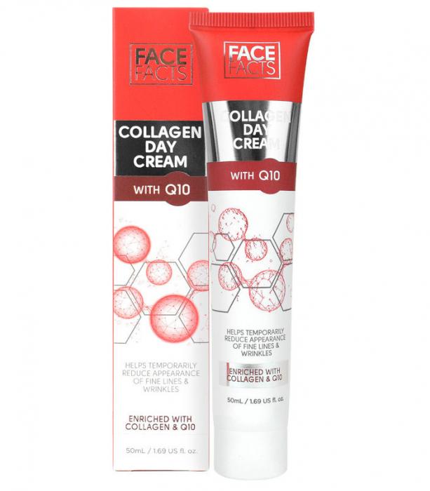 Crema de fata cu Colagen si Coenzima Q10, FACE FACTS, 50 ml-big