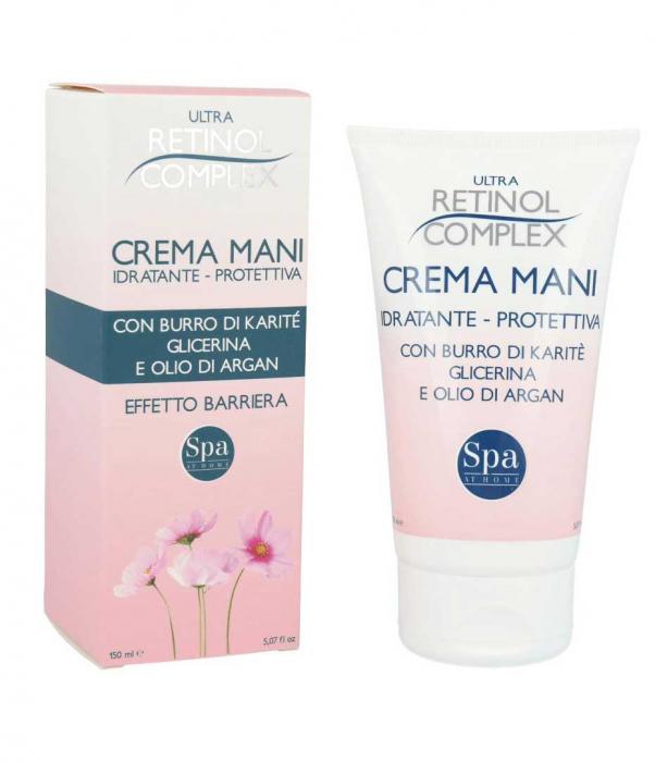 Crema de maini ultra-hidratanta si protectiva, Ultra Retinol Complex, 150 ml-big