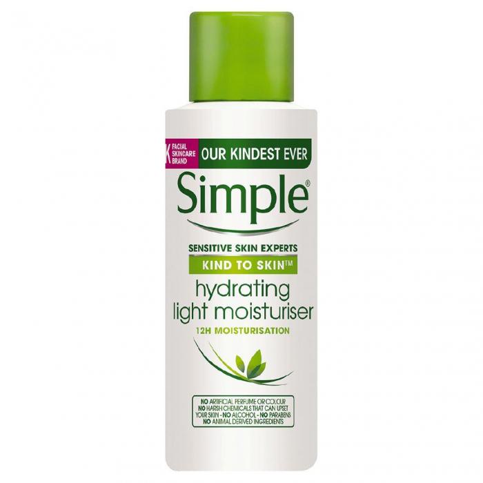 Ser hidratant pentru ten sensibil Simple Hydrating Light Moisturiser, 50 ml-big