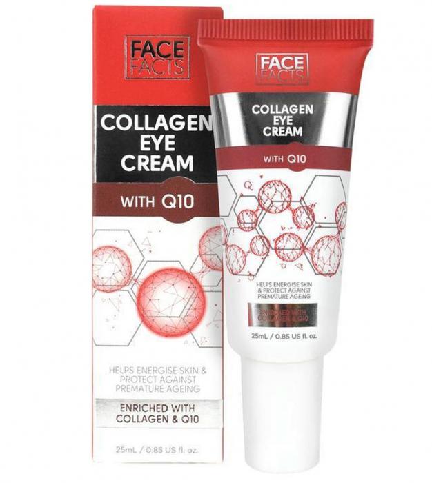 Crema pentru ochi cu Colagen si Coenzima Q10, FACE FACTS, 25 ml-big