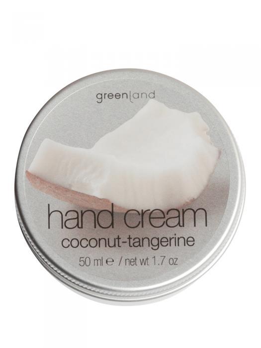 Crema de Maini Greenland cu Nuca de Cocos si Mandarine - 50 ml-big