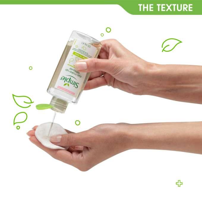 Demachiant pentru ten si ochi sensibili Simple Kind To Skin Eye Make-up Remover, 125 ml-big