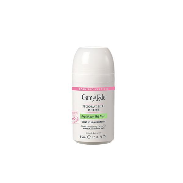 Deodorant Roll-On BIO GamARde cu Ceai Verde - 50 ml-big