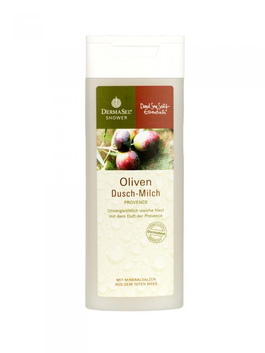 Lapte de Dus DermaSel Shower cu Ulei de Masline - 150 ml-big