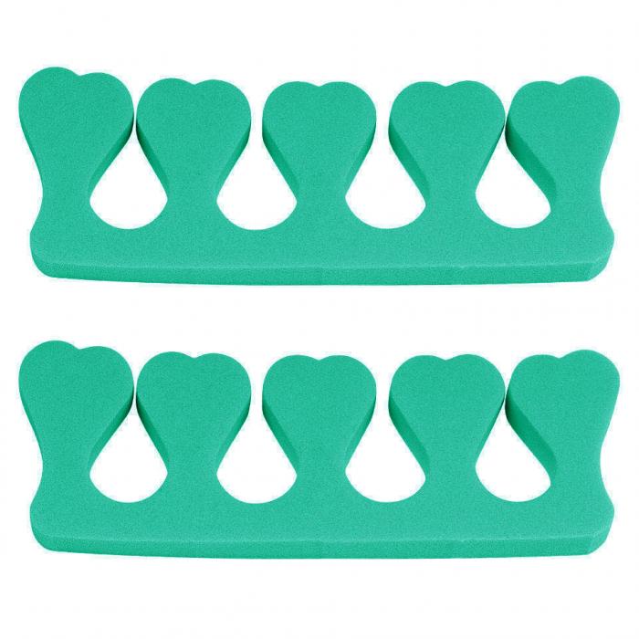 Despartitor degete pentru pedichiura, Urban Green-big
