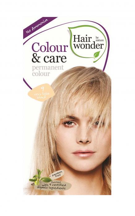 Vopsea De Par Fara Amoniac HennaPlus Hair Wonder-9 Very Light Blond-big