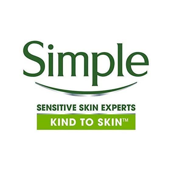 Exfoliant delicat pentru ten Simple Smoothing Facial Scrub cu granule de orez, 75 ml-big