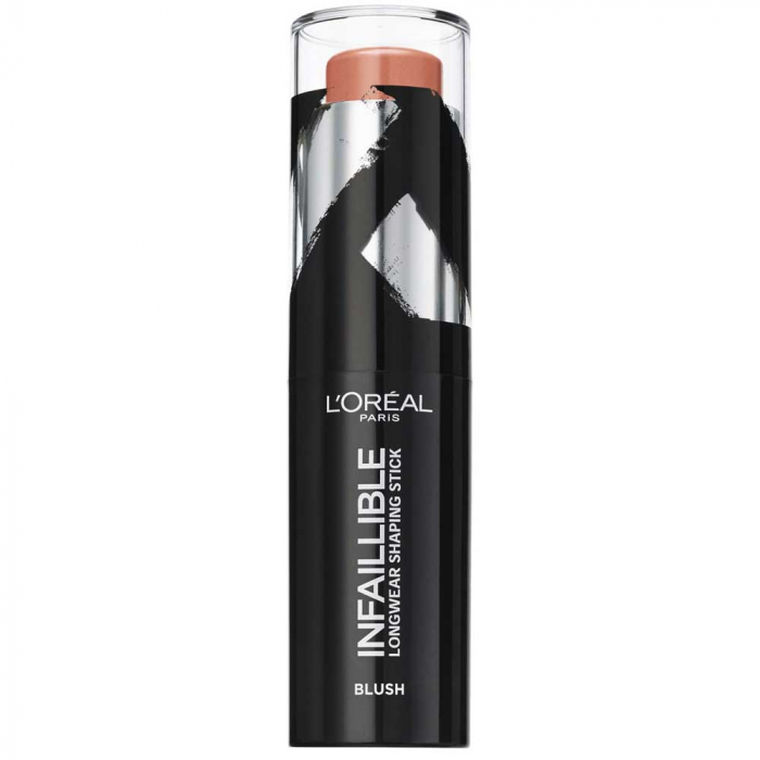 Fard de obraz L'Oreal Paris Infaillible Longwear Shaping Stick, 002 Rosy Nude, 9 g-big