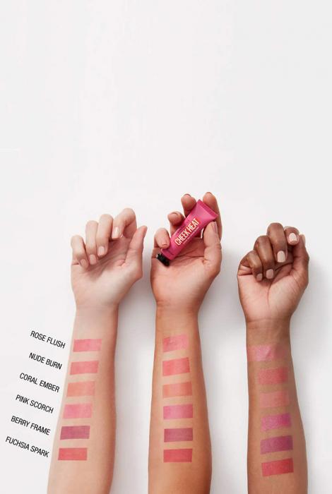 Fard de obraz Maybelline New York Cheek Heat Blush, 35 Berry Flame, 10 ml-big
