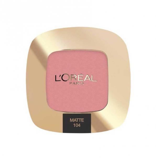 Fard Mat L'OREAL Paris Color Riche Mono Matte - 104 La Vie En Rose-big