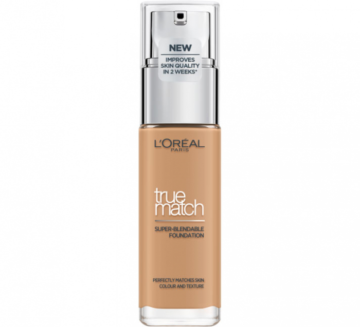 Fond De Ten L'Oreal Paris True Match Super Blendable - 6.N Honey, 30 ml-big