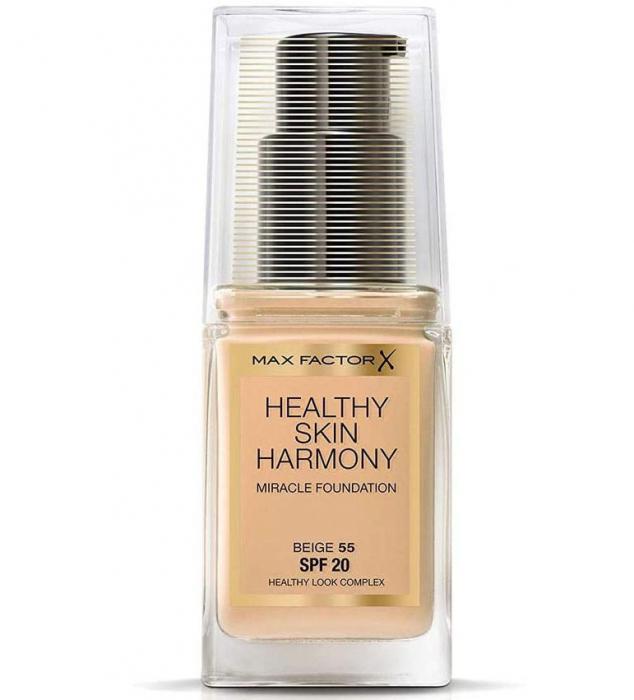 Fond de ten Max Factor Healthy Skin Harmony Miracle, 55 Beige, 30 ml-big