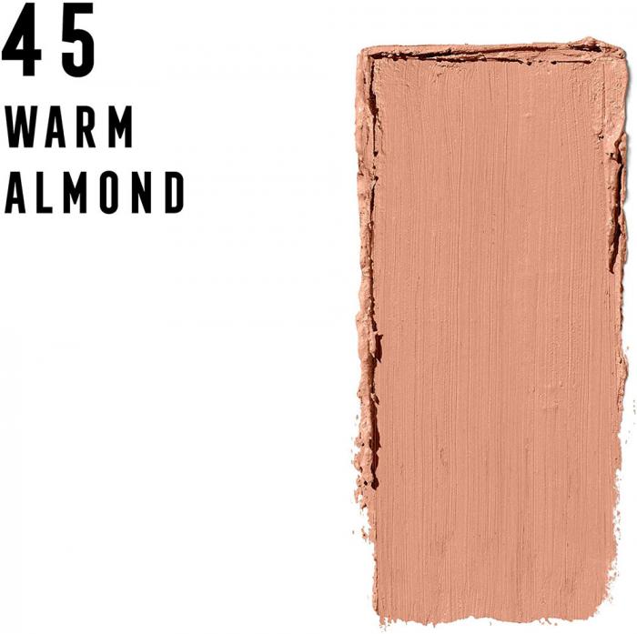 Fond de ten anti-stralucire Max Factor Facefinity All Day Matte Panstik, 45 Warm Almond-big