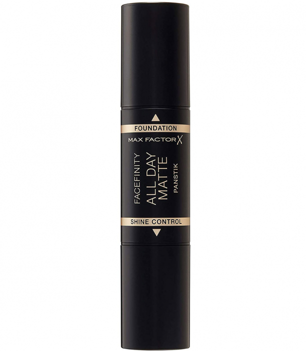 Fond de ten anti-stralucire Max Factor Facefinity All Day Matte Panstik, 45 Warm Almond-big