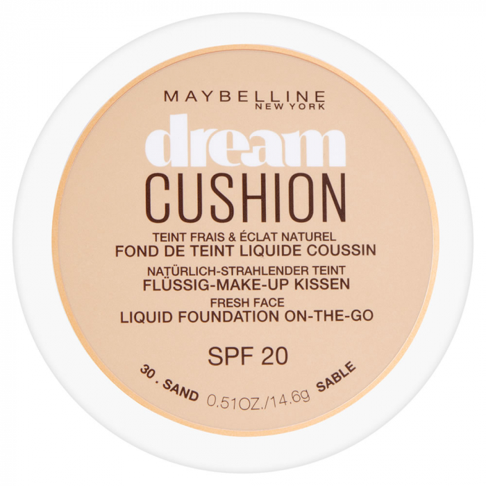 Fond de ten Maybelline Dream Cushion Liquid Foundation, 30 Sand, 14.6 g-big