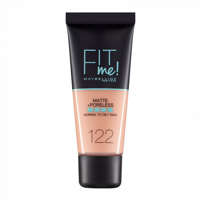 Fond de ten MAYBELLINE FIT ME Matte & Poreless, 122 Creamy Beige, 30 ml-big