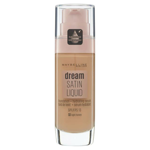 Fond de ten Maybelline New York Dream Satin SPF 13, 45 Honey, 30 ml-big