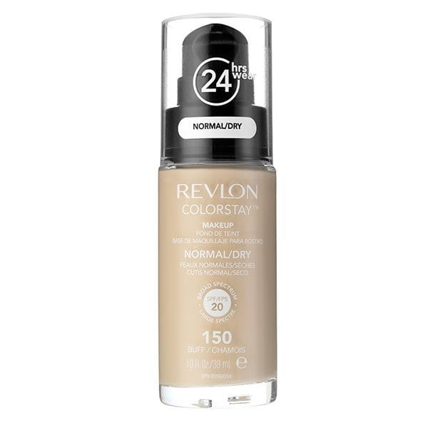 Fond De Ten Revlon Colorstay Normal / Dry Skin Cu Pompita - 150 Buff, 30ml-big