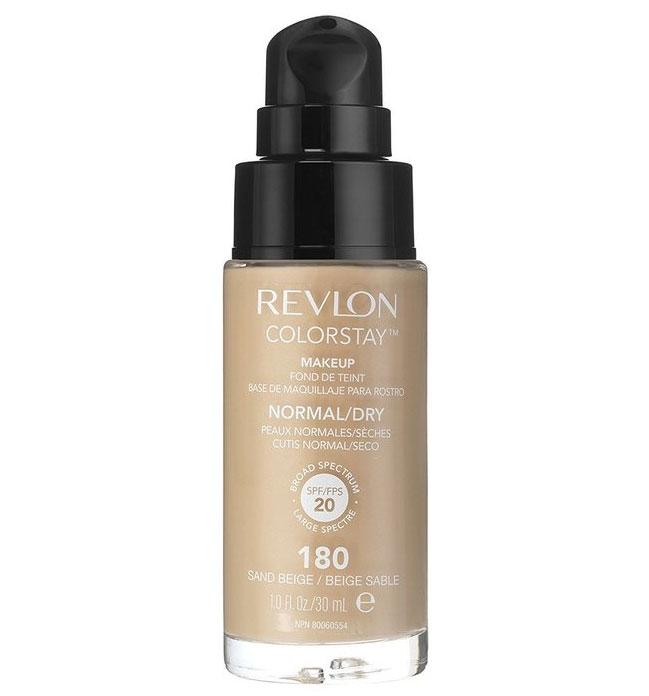 Fond De Ten Revlon Colorstay Normal / Dry Skin Cu Pompita - 180 Sand Beige, 30ml-big