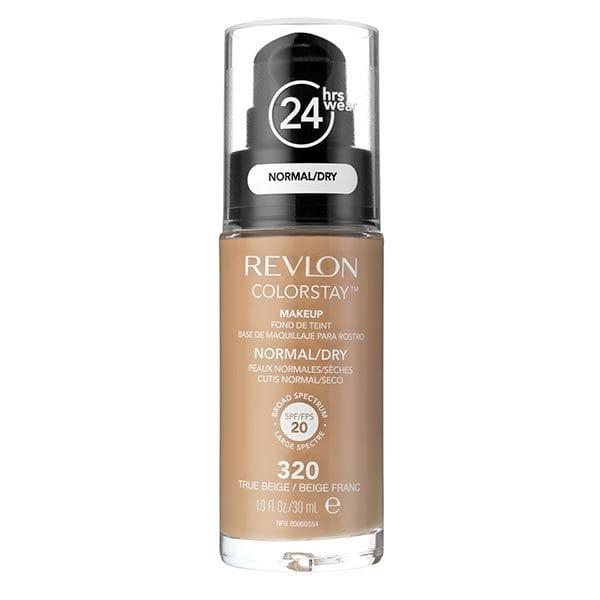 Fond De Ten Revlon Colorstay Normal / Dry Skin Cu Pompita - 320 True Beige, 30ml-big