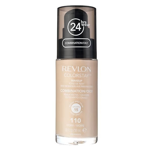 Fond De Ten Revlon Colorstay Oily Skin Cu Pompita - 110 Ivory, 30ml-big