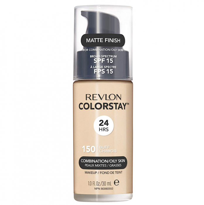 Fond De Ten Revlon Colorstay Oily Skin MATTE FINISH, 24H, SPF 15 - 150 Buff, 30ml-big