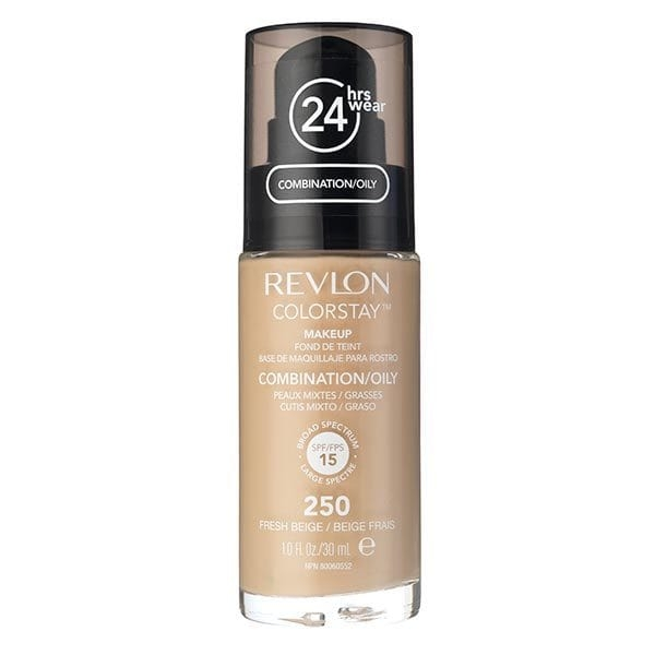Fond De Ten Revlon Colorstay Oily Skin Cu Pompita - 250 Fresh Beige, 30ml-big
